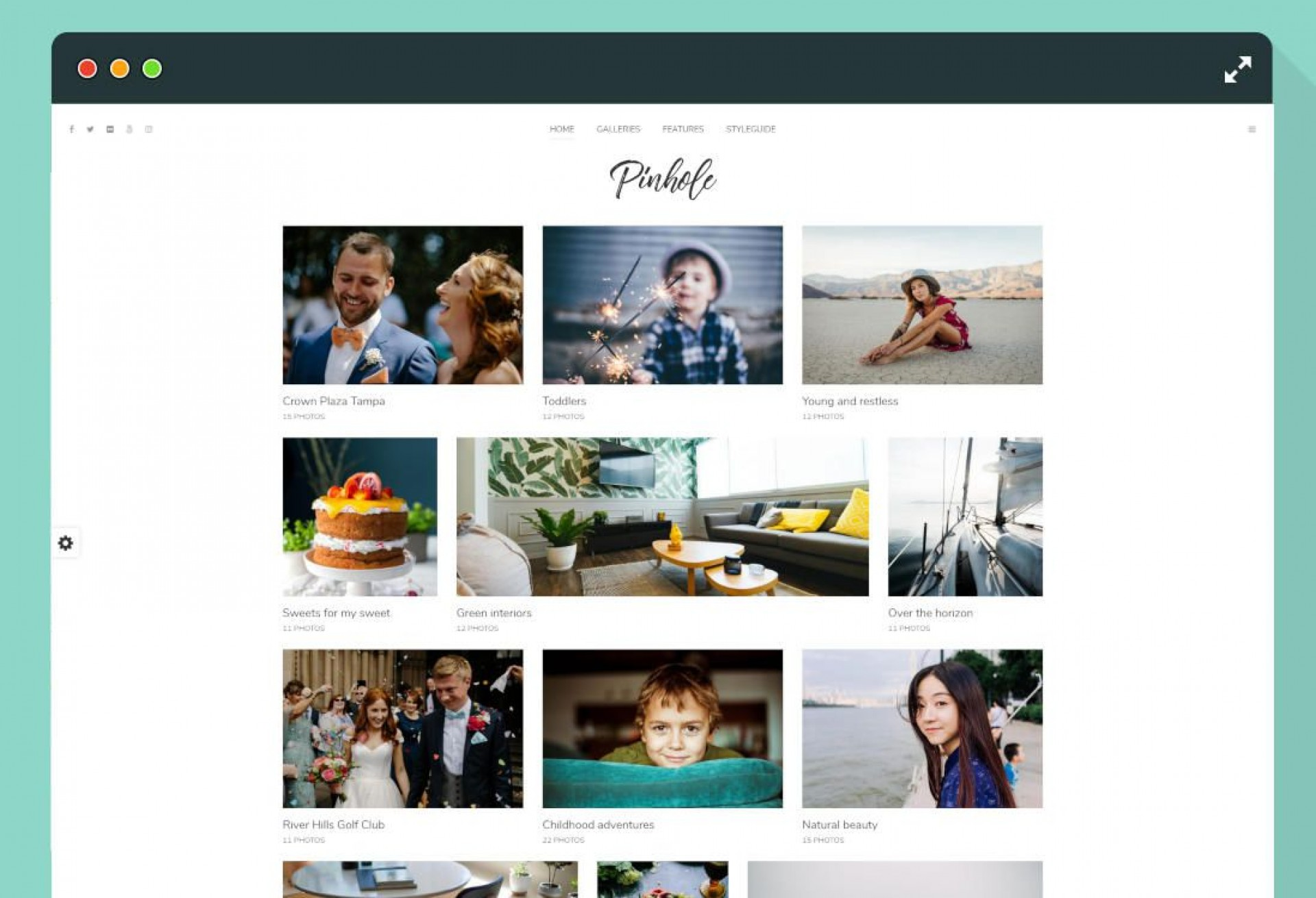 006 Astounding Web Template For Photographer Highest Quality  Photographers Photography Free1920