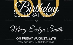 006 Awesome 60 Birthday Invite Template Highest Clarity  Templates 60th Printable Free