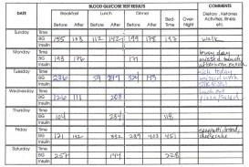 006 Awesome Blood Sugar Log Book Template Idea  Glucose