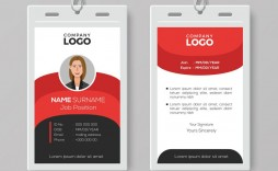 006 Awesome Employee Id Badge Template Design  Avery Card Free Download Word