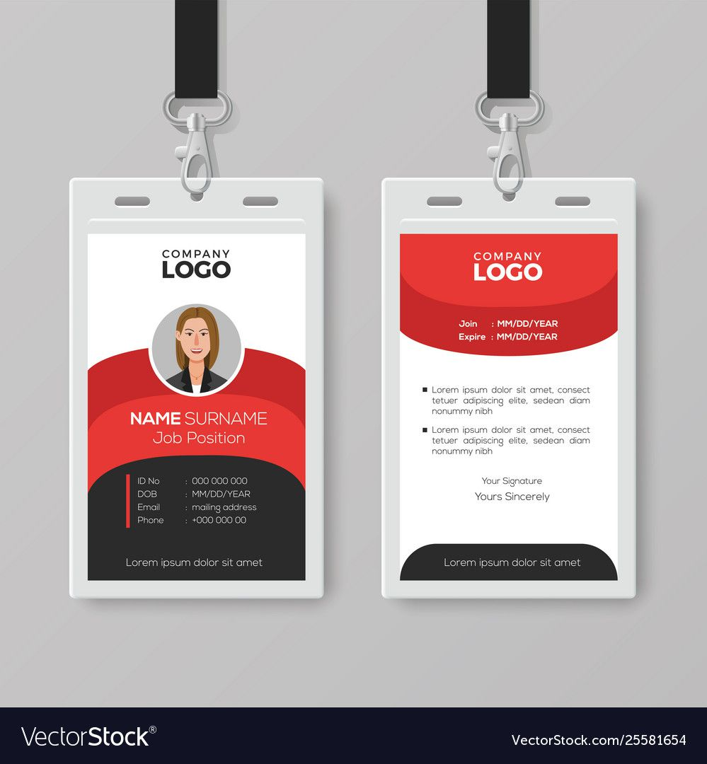 006 Awesome Employee Id Badge Template Design  Avery Card Free Download WordFull