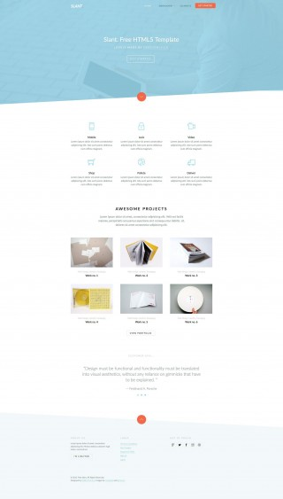 006 Awesome Free Responsive Website Template Download Html And Cs Jquery High Resolution  For It Company320