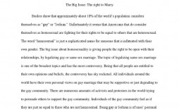006 Awesome Gay Marriage Essay Inspiration  Example Clever Title For