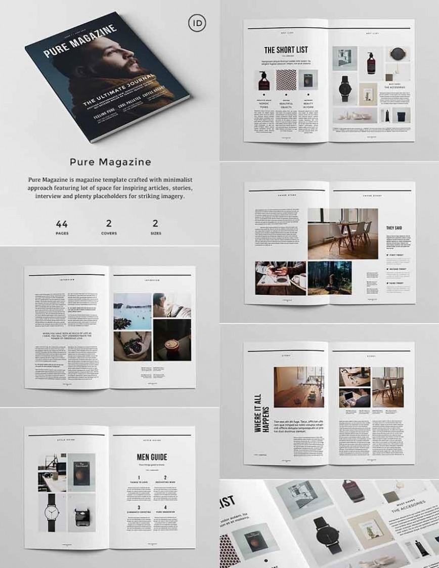 006 Awesome Indesign Magazine Template Free Picture  Layout Download Adobe Cs6 Indd