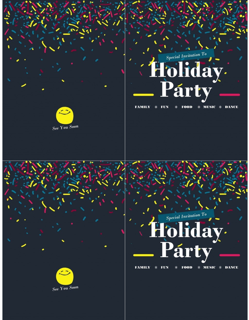 006 Awesome Microsoft Office Invitation Template Picture  Templates Holiday Party PublisherLarge