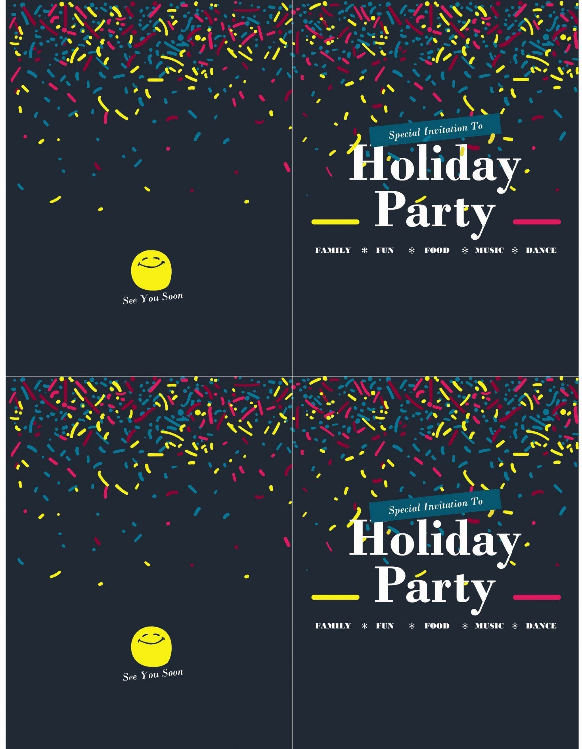 006 Awesome Microsoft Office Invitation Template Picture  Templates Holiday Party Publisher1920