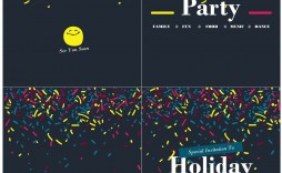 006 Awesome Microsoft Office Invitation Template Picture  Templates Holiday Party Publisher