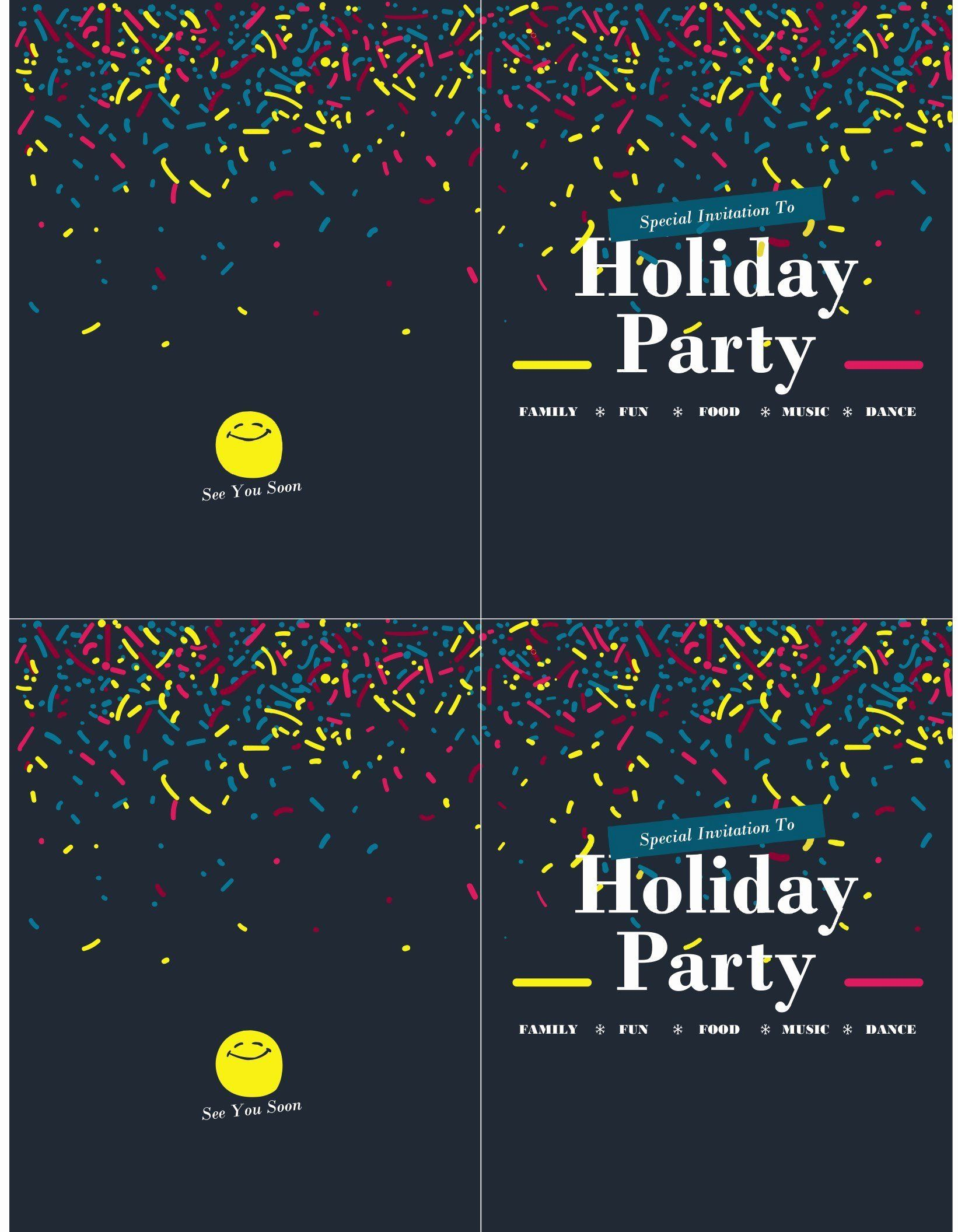 006 Awesome Microsoft Office Invitation Template Picture  Templates Holiday Party PublisherFull