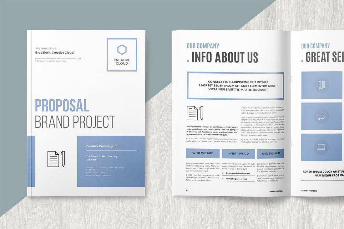 006 Awesome M Word Brochure Format High Def  Template Download MicrosoftFull