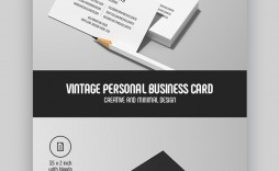 006 Awesome Personal Busines Card Template High Def  Trainer Design Psd Fitnes
