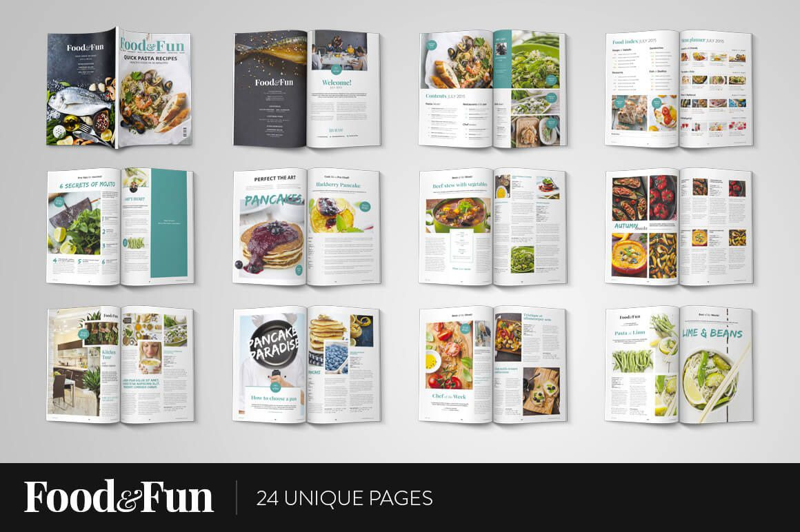 006 Awesome Photoshop Magazine Layout Template Free Download High Def Full