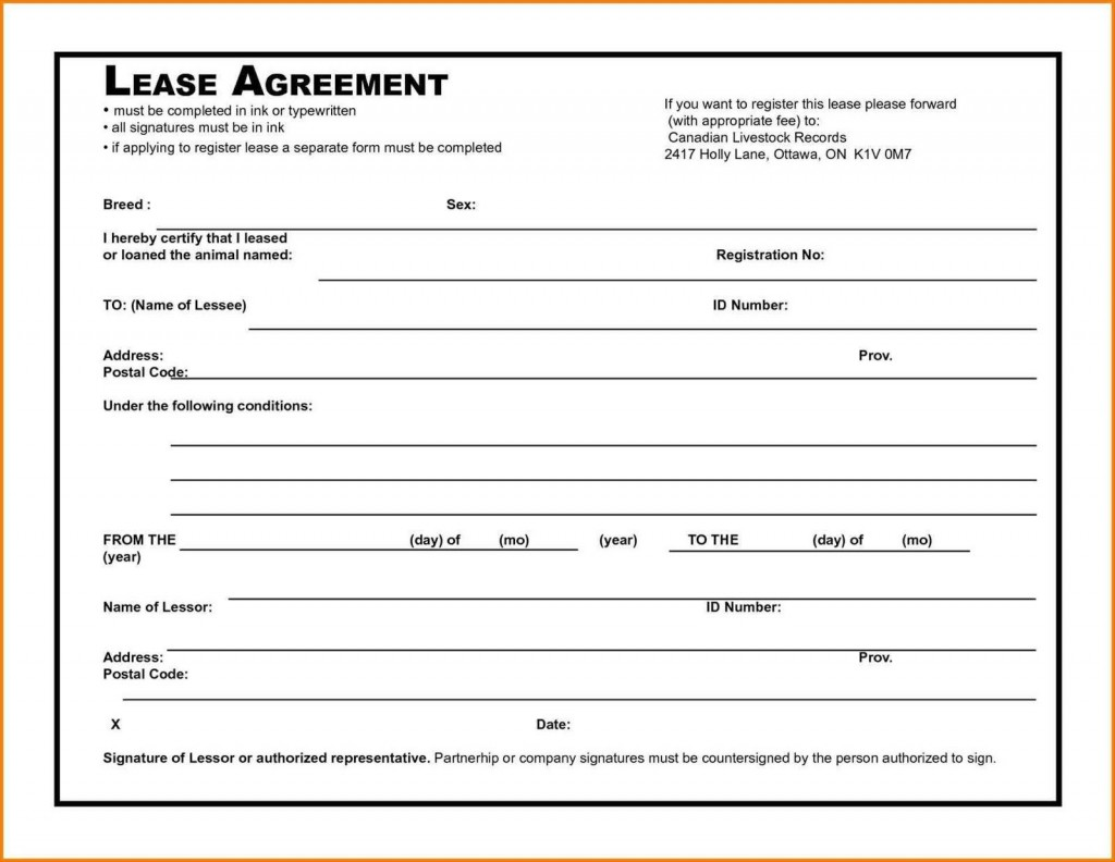 006 Awesome Rental Agreement Template Free Picture  Tenancy Rent PdfLarge