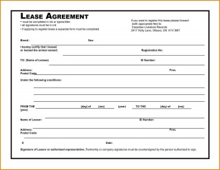 006 Awesome Rental Agreement Template Free Picture  Tenancy Form Download Word320