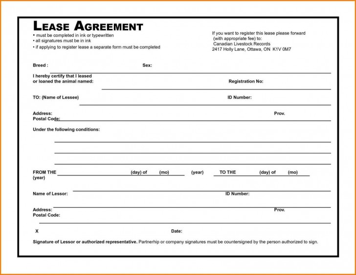 006 Awesome Rental Agreement Template Free Picture  Tenancy Form Download Word728