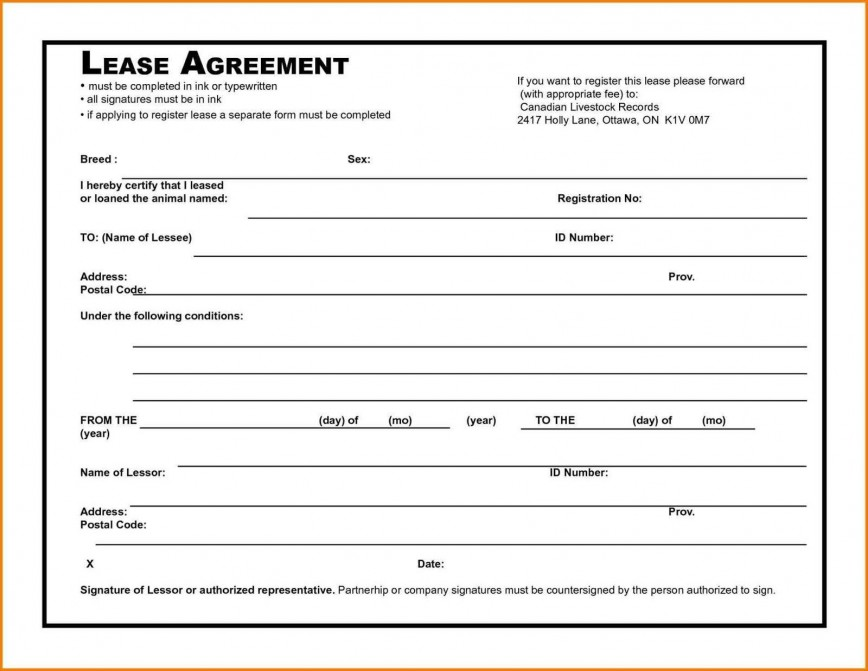 006 Awesome Rental Agreement Template Free Picture  Form Texa Lease Pdf