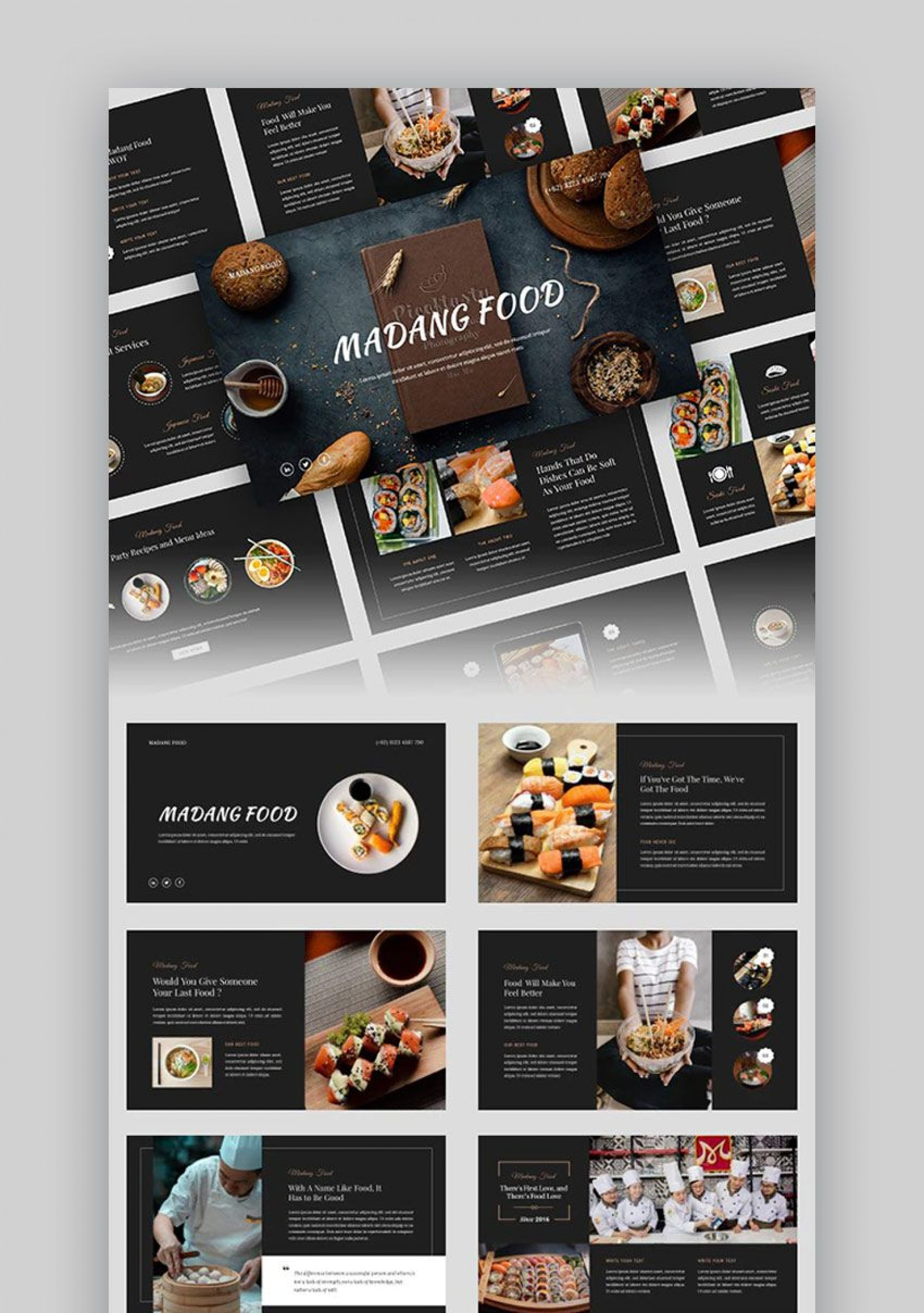 006 Awesome Small Restaurant Busines Plan Ppt Presentation Highest Clarity  Powerpoint1920