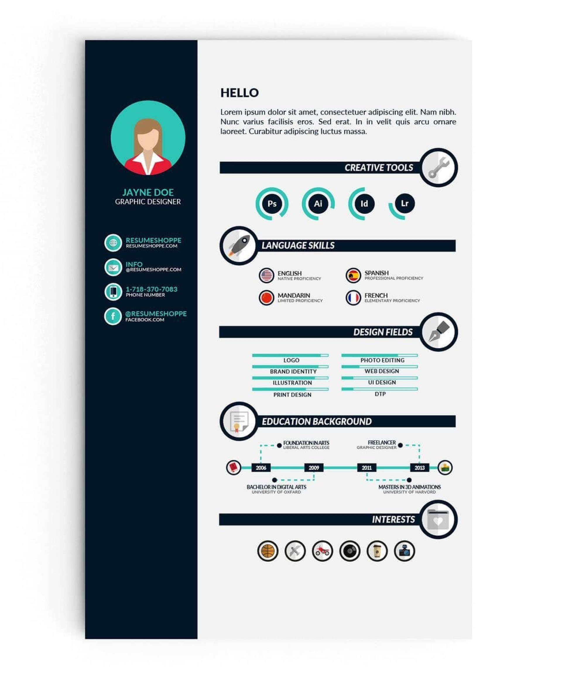 006 Awesome Student Resume Template Microsoft Word Picture  College Download Free1920