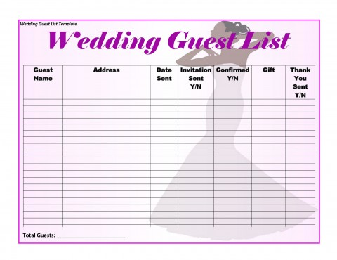 006 Awesome Wedding Timeline For Guest Template Free Design  Download480