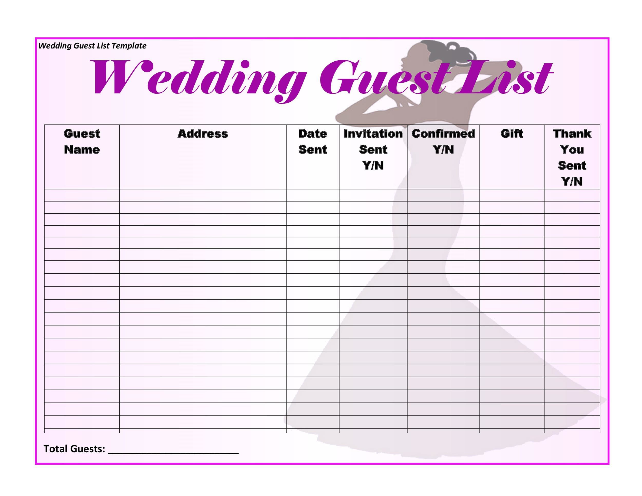 006 Awesome Wedding Timeline For Guest Template Free Design  DownloadFull