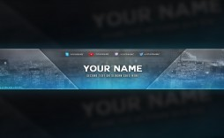006 Awesome Youtube Channel Art Template Photoshop Download Highest Clarity