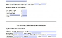 006 Awful Apartment Rental Application Template Picture  Free Form Ontario