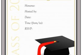 006 Awful College Graduation Invitation Template Sample  Party Free For Word