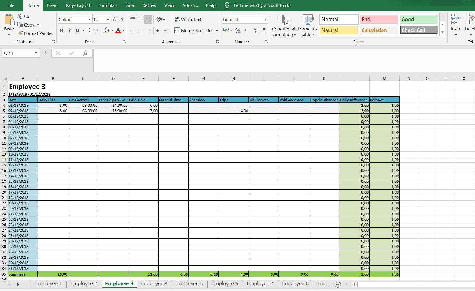006 Awful Excel Timesheet Template With Formula High Resolution  Formulas Biweekly DailyFull