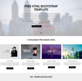 006 Awful Free Bootstrap Website Template Concept  2020 Responsive Download For Busines Education320