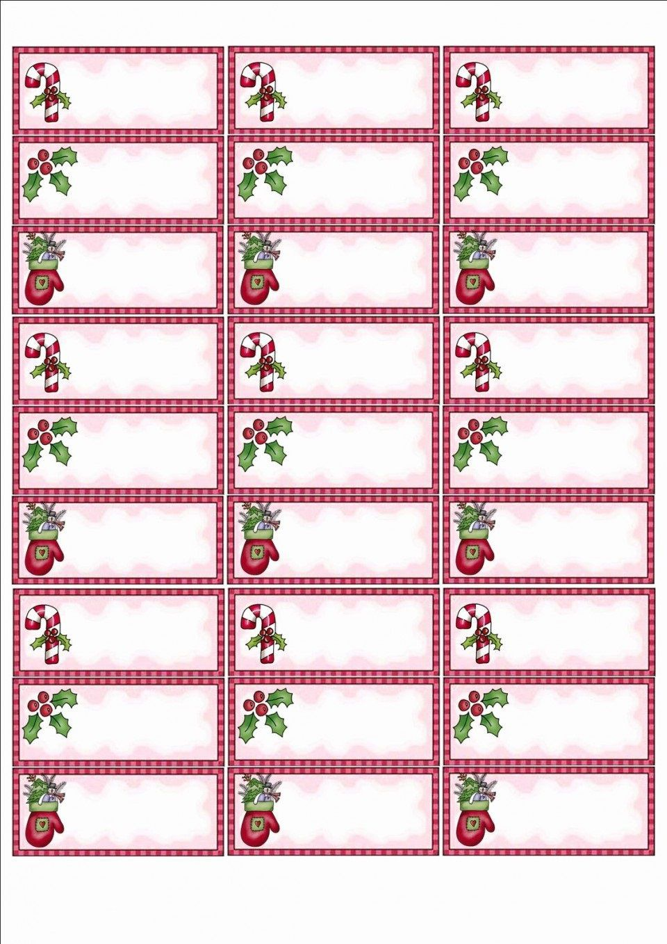 006 Awful Free Christma Addres Label Template Avery 5160 Example Full