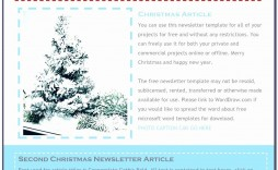 006 Awful Free Christma Letter Template For Microsoft Word Concept  Downloadable Newsletter