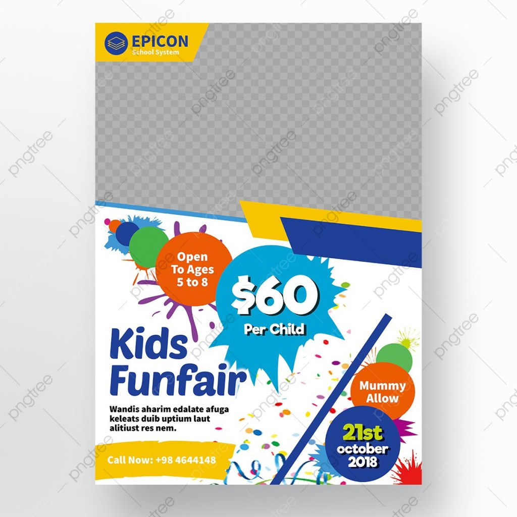 006 Awful Free School Flyer Template Psd Highest Quality  Brochure Download Back ToLarge