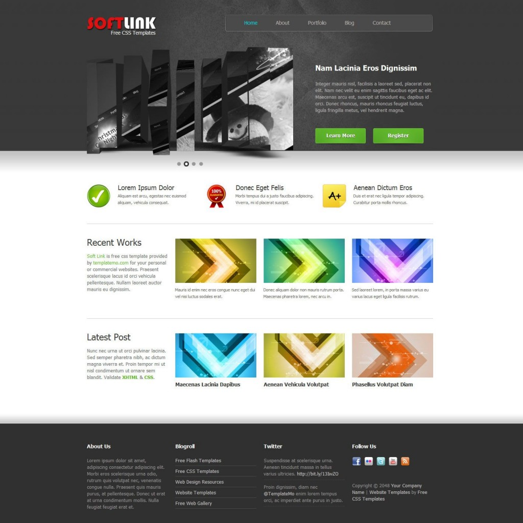 006 Awful Free Website Template Dreamweaver Photo  Ecommerce Download Construction HtmlLarge