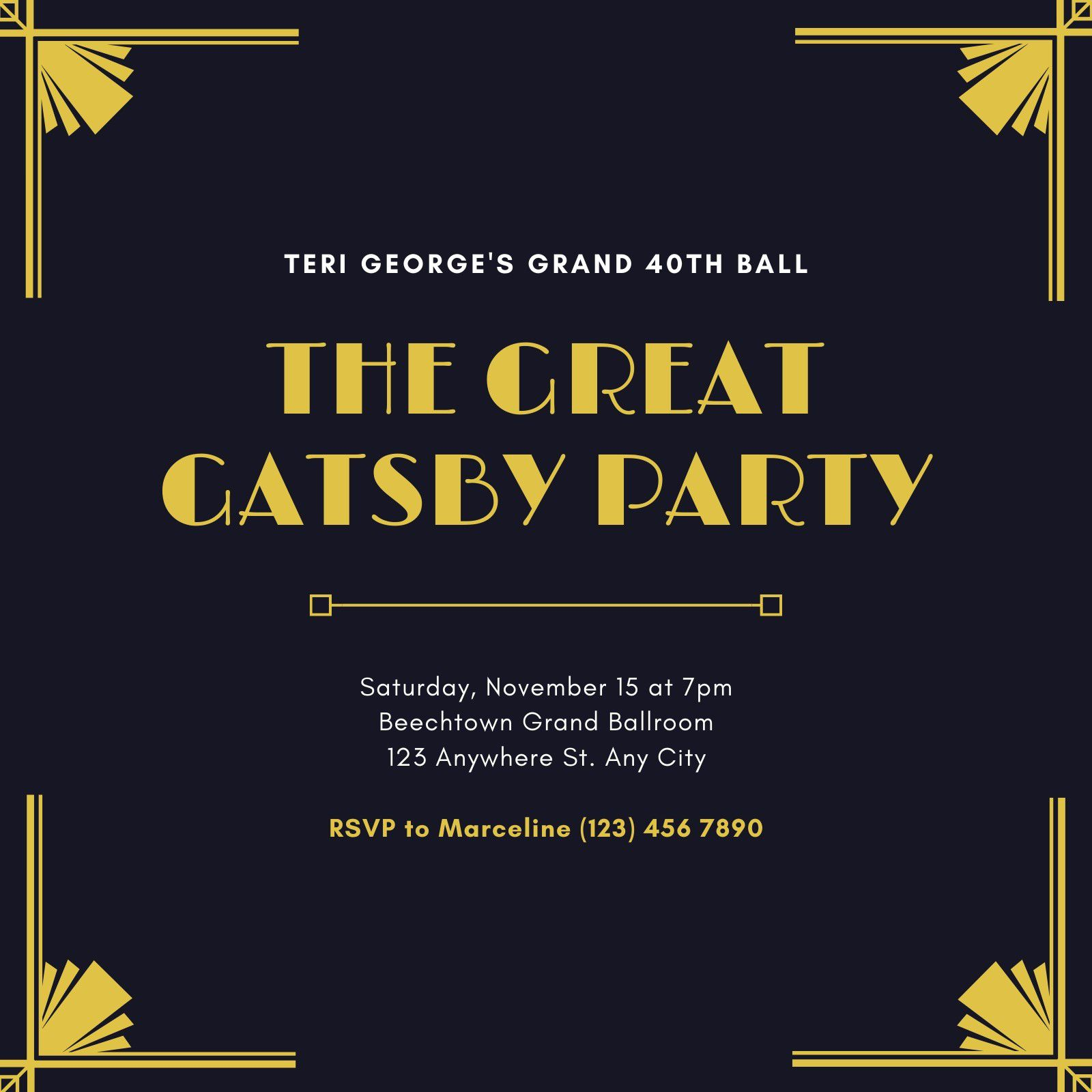 006 Awful Great Gatsby Invitation Template High Resolution  Templates Free Download BlankFull