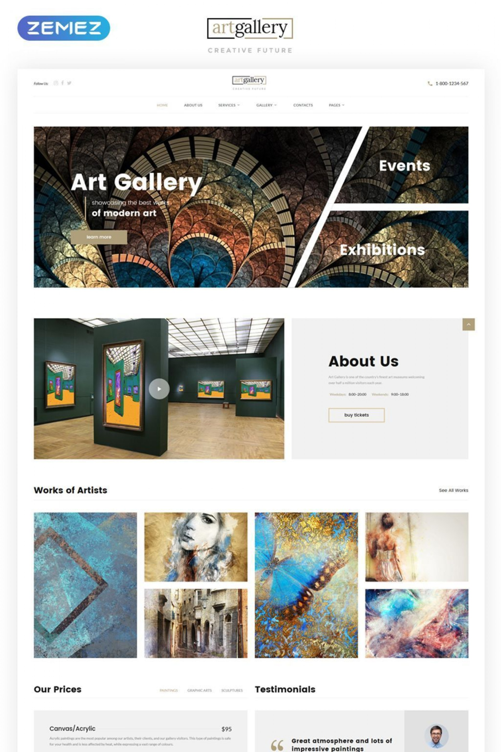 006 Awful Painting Website Html Template Free Download Highest Quality 1920