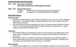 006 Awful Part Time Job Resume Template Photo  Student Summary Example