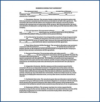 006 Awful Simple Consulting Agreement Template Idea  Service Uk Free320