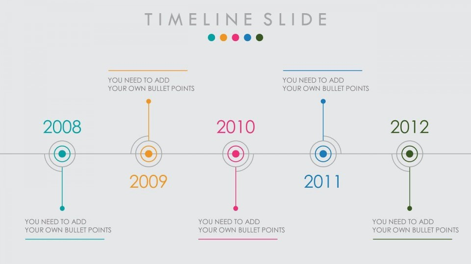 006 Awful Timeline Format For Presentation Example  Template Presentationgo960