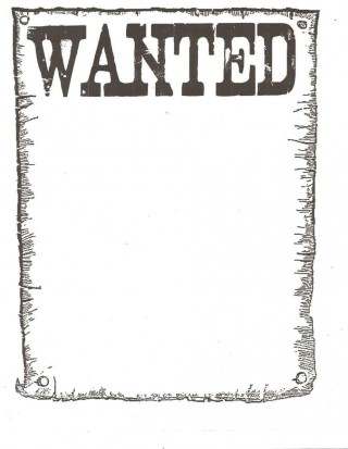 006 Awful Wanted Poster Template Microsoft Word High Resolution  Western Most320