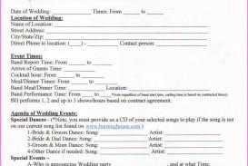 006 Awful Wedding Planner Contract Template Design  Uk Australia