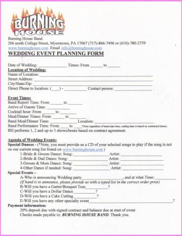 006 Awful Wedding Planner Contract Template Design  Uk Australia360