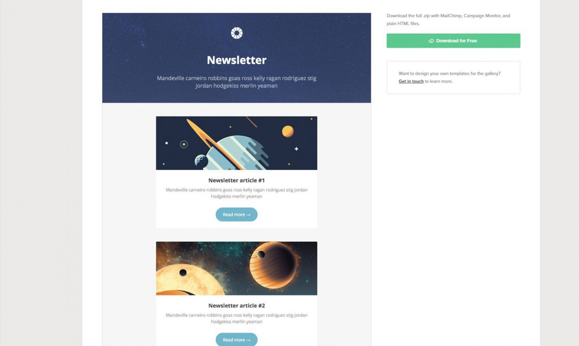 006 Beautiful Free Responsive Html Email Template Download High Resolution  Simple App-responsive-notification-email-html-template1920