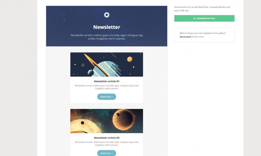 006 Beautiful Free Responsive Html Email Template Download High Resolution  Simple App-responsive-notification-email-html-template