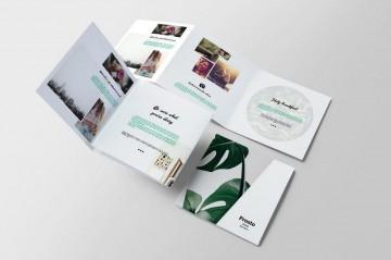 006 Beautiful Indesign Trifold Brochure Template Picture  Tri Fold A4 Bi Free Download360