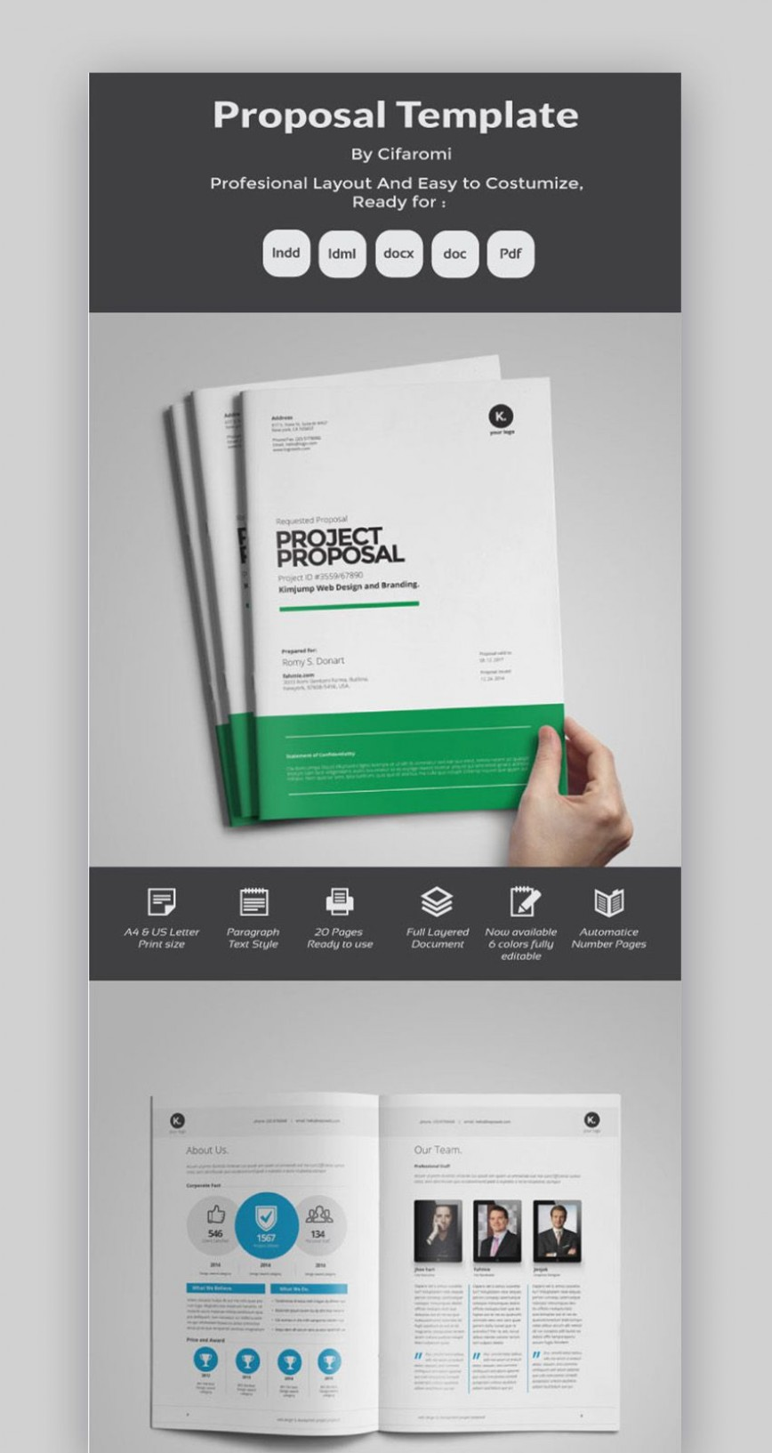 006 Beautiful Microsoft Word Proposal Template Free Highest Clarity  Busines Project Download Sponsorship