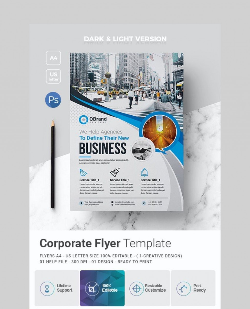 006 Best Busines Flyer Template Free Printable Picture Large