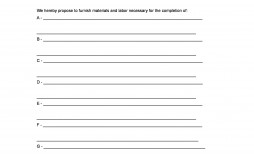 006 Best Construction Job Proposal Template Photo  Example