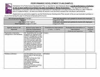 006 Best Employee Development Plan Example High Definition  Workforce Personal Career320