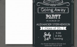 006 Best Farewell Party Invitation Template Free Highest Clarity  Email Printable Word