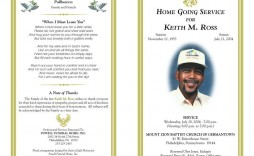 006 Best Free Funeral Pamphlet Template Inspiration  Word Simple Program Download Psd