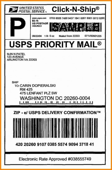 006 Best Free Usp Shipping Label Template Highest Clarity 360